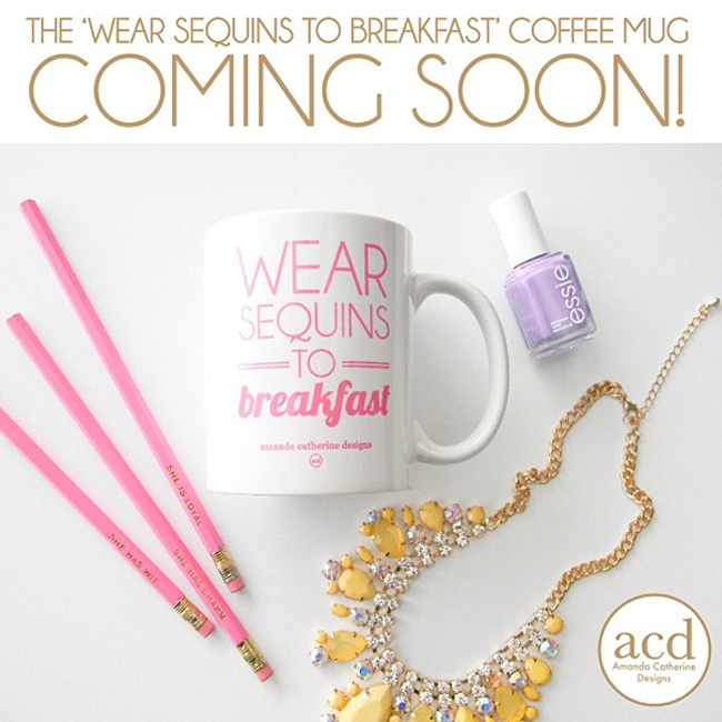 wear-sequins-to-breakfast-mug