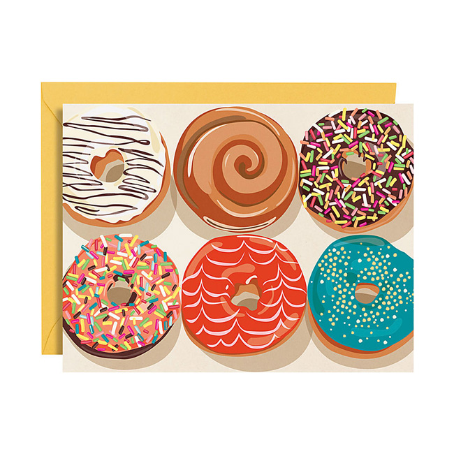 donut-stationery